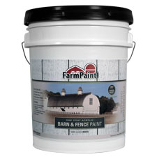 White premium one coat 100 acrylic barn fence paint for One coat white paint