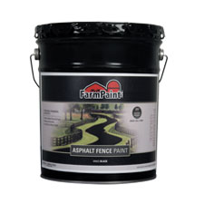 Asphalt Fence Paint - 5 Gallon