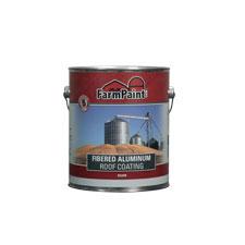 5 Year Fibered Aluminum Roof Coating 1 Gallon