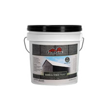 Gray - Premium One Coat 100% Acrylic Barn & Fence Paint - 1 Gallon